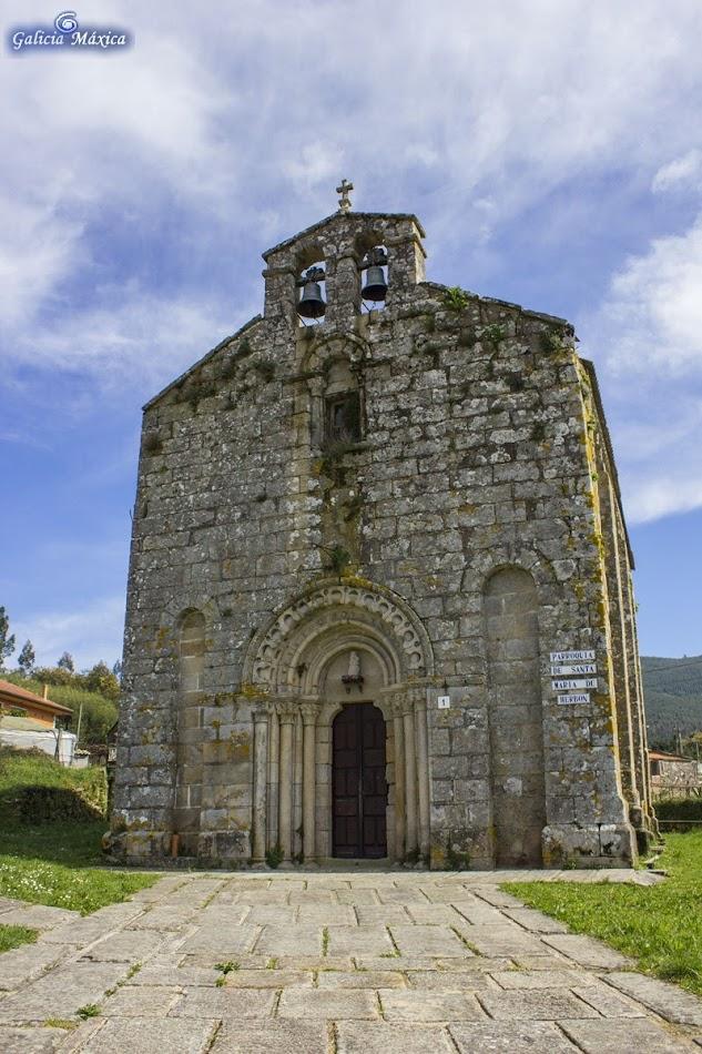 Iglesia románica de Herbón