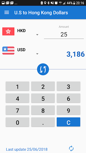 Screenshot For US Dollar Hong Kong USD To HKD Converter In United States Play