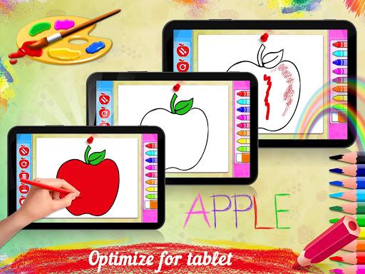 Fruits Coloring Book - Kids Coloring Book 1.0.0 screenshots 2
