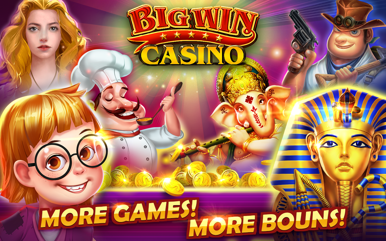 big win casino five star games