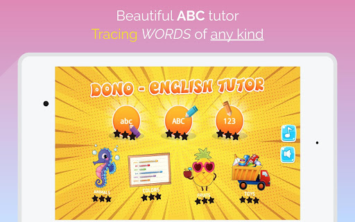 ABC, Numbers, Words, Animals, Toys Tracing  screenshots 10