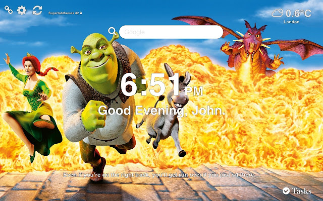 Shrek Best Wallpaper And Tab Theme