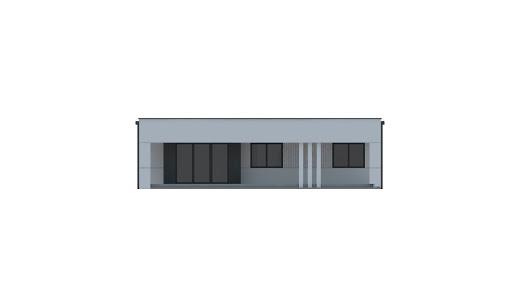 UA118 - Elewacja tylna