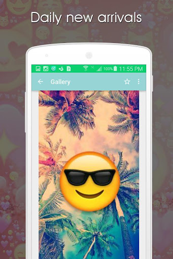 玩免費遊戲APP|下載Emoji Wallpapers ???? app不用錢|硬是要APP