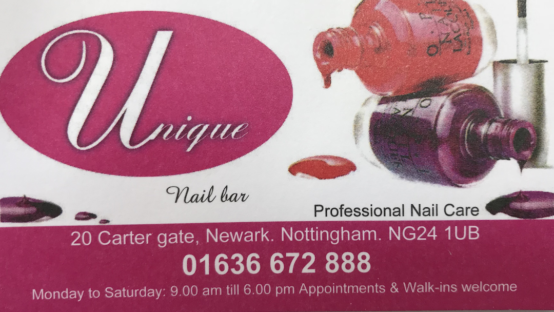 Unique Nails Nail Salon In Newark On Trent