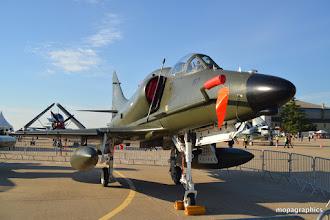 """Photo: autre Douglas A4 """"Skyhawk"""" allias Scooter vole depuis 1956 et encore utilisé par certains pays."""