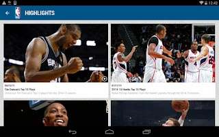 Screenshot of NBA 2015-16