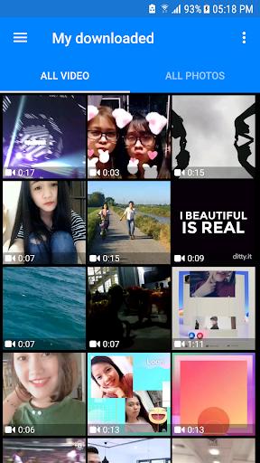 Download Videos and Photos: Facebook & Instagram 1.3.7 screenshots 8