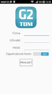 G2 TDM - náhled
