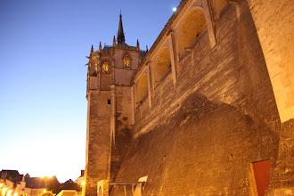 Photo: Château d'Amboise at night