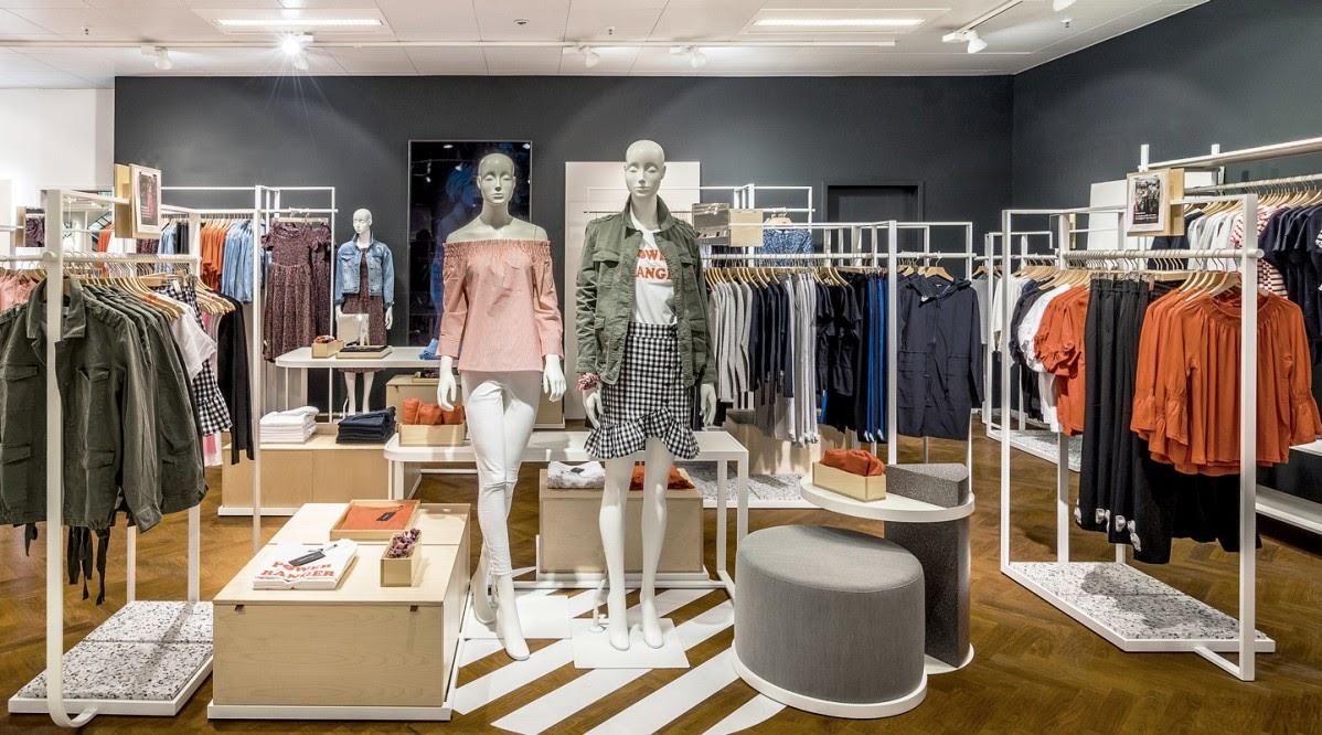 Thiết kế shop thời trang - thiết kế cửa hàng quần áo đẹp