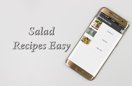 Salad Recipes Easy 1.0 screenshots 1