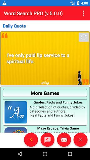 AlBa Games-juegos populares Sopa de letras sin Ads screenshot