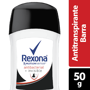 Desodorante Rexona Barra Invisible Womenx50g.