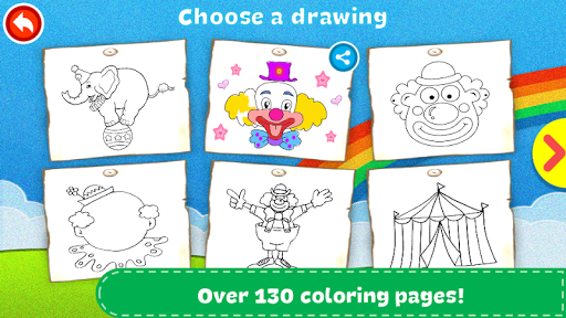 Coloring Book - Kids Paint screenshot 14
