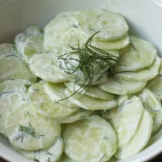 Summer Dill & Cucumber Salad (Mizeria)