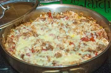 Casserole Essentials: Spicy Chicken & Beef w/ Rice