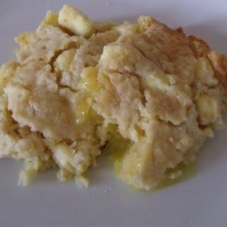 Lemon Cream Cheese Dump Cake.