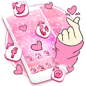 Bling Love Heart Launcher Theme Live HD Wallpapers Android APK Download Free By Best Launcher Theme & Wallpapers Team 2019