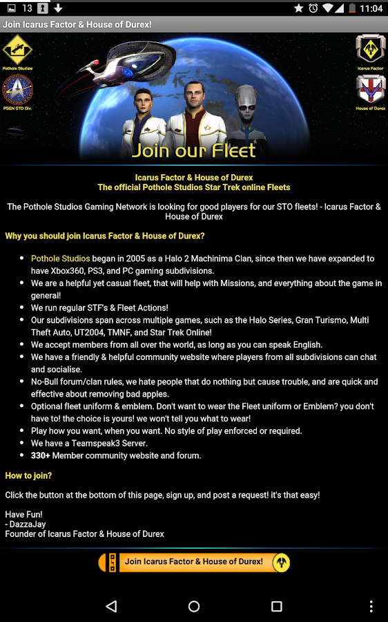 STO Guides- screenshot