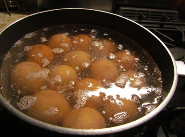 boil your eggs. place in ice water