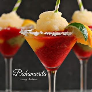 Frozen Bahamarita (alcoholic version)