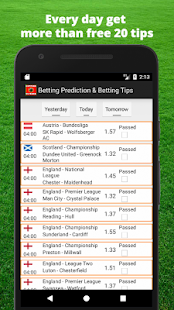 Free Betting Tips& Betting Prediction. Expert VIP - náhled