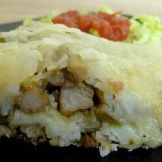 Pork Fajita Filo Lasagna