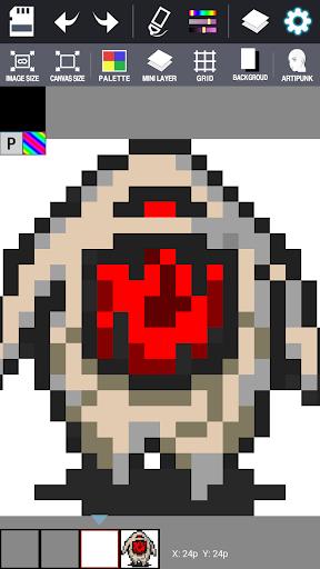 Dot Maker - Pixel Art Painter screenshot 14