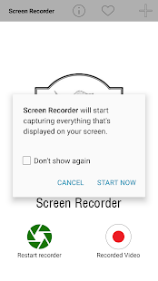 Screen Recorder Pro Lollipop - náhled