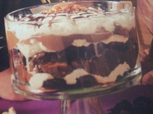 Brownie   Trifle Recipe