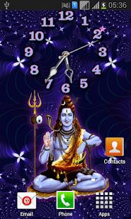 Download Shiva Clock Themes Live Wallpaper APK latest version App for PC