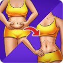 Flat Stomach Workout - Burn Belly Fat, Weight Loss icon
