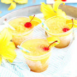 Whiskey Sour Slushes.