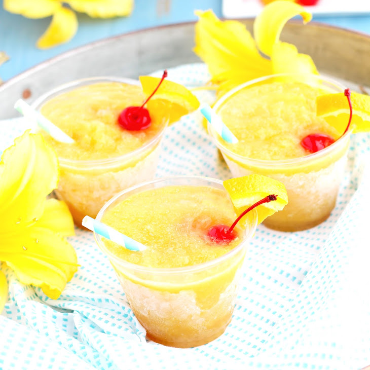 Whiskey Sour Slushes