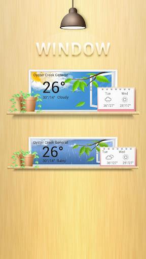 Window GO Weather Widget Theme screenshot