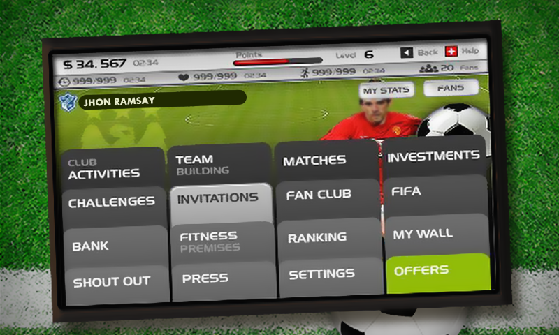 Football Team Manager- screenshot