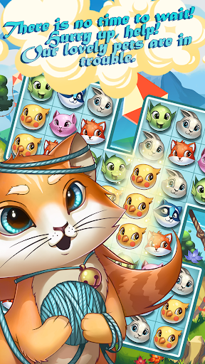 Lovely Pets PRO: Match 3  screenshots 7