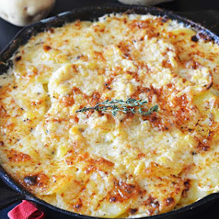 Skillet Scalloped Potatoes