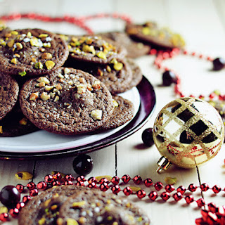 Caramel-Stuffed Cocoa Cookies With Sea Salt