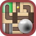 Ball Unblock – Roll the Ball Slide Puzzle Game icon