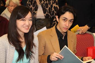 Photo: Louise Kwong en Aron Tringali
