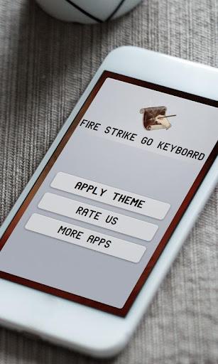 玩免費個人化APP|下載火力打击 GO Keyboard app不用錢|硬是要APP