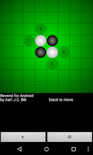 Reversi for Android - náhled