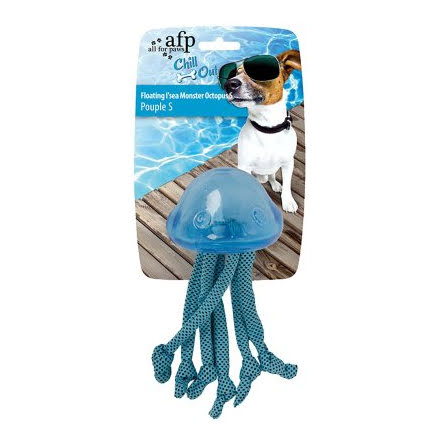 Hundleksak Chill Out Floating Seamonster 8x8x15cm