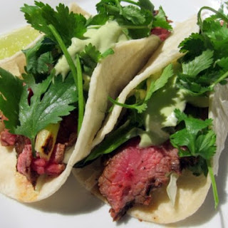 Chipotle Steak Tacos.