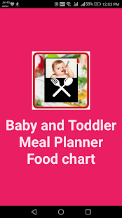 baby food recipe toddler meal planner food chart apps on google play
