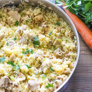 One Pot Creamy Chicken and Rice Recipe