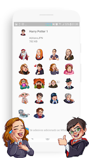 Stickers Harry P para WhatsApp Screenshot