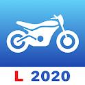 Motorcycle Theory Test 2020 - Motorbike rider exam icon
